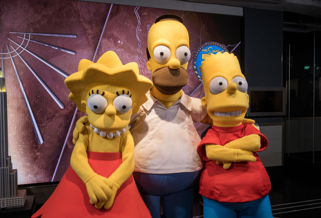 """Empire State Building Celebrates 30th Anniversary Of """"The Simpsons"""""""