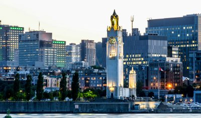 View Of Montreal Downtown, Quebec, Canada