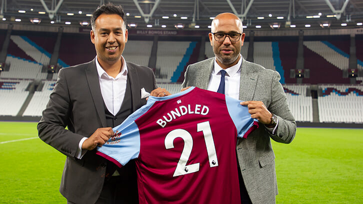 West Ham and Bundle Esports partnership 2019