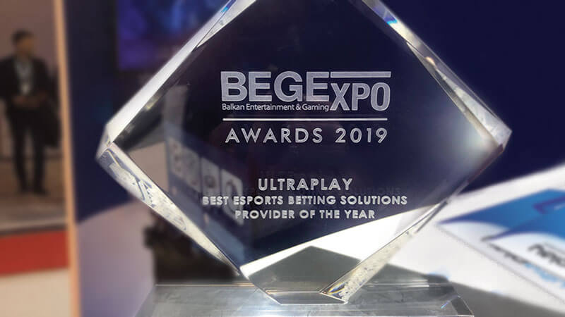 Begexpo Awards 2019 Ultraplay Best Esports Betting Solutions Provider Of The Year