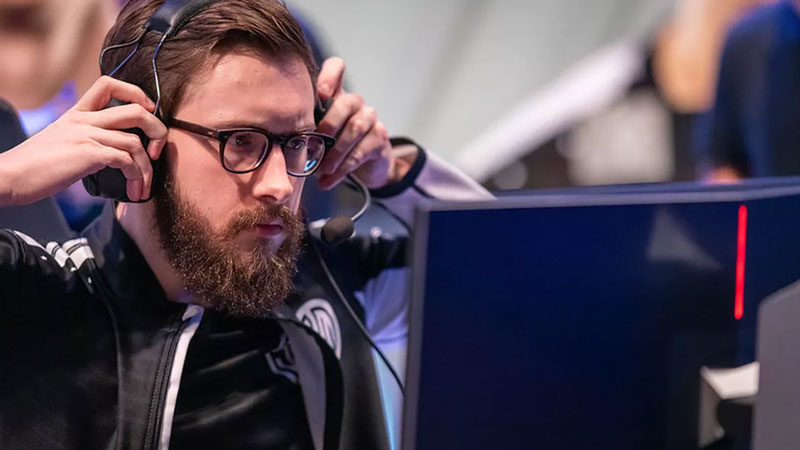 Bjergsen while playing with TSM