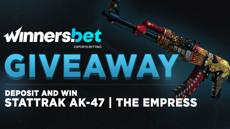 Free Skin In CSGO With Winners.bet
