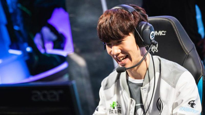 league of legends top laners TheShy
